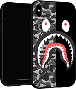 "iPhone XR Case 6.1"",Case Cover for iPhone XR (Bape-Shark)"