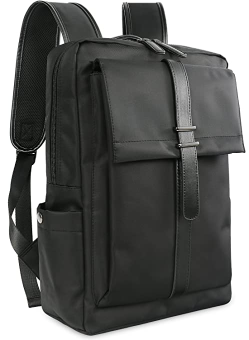 Oflamn Slim Business Laptop Backpack Water Resistant Travel Bag for 14-Inches  Laptops (Black)  Amazon.ca  Luggage   Bags 3a242da381ddc