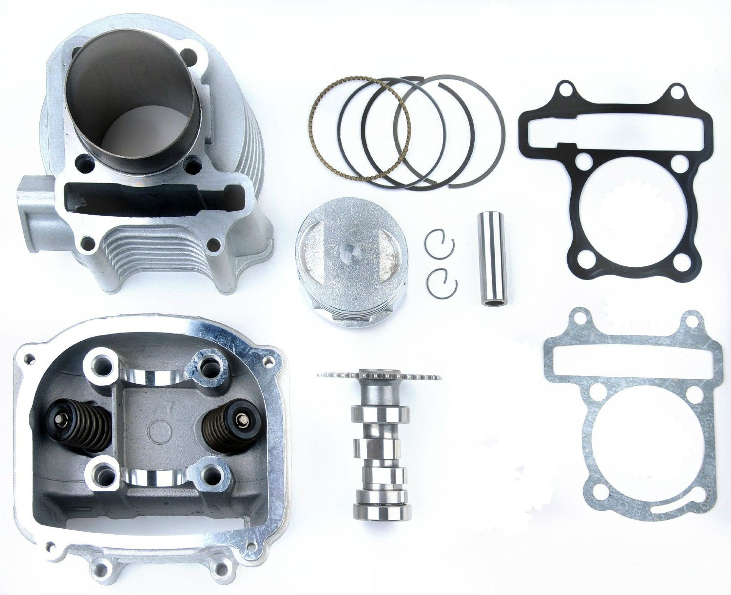 150cc to 170cc Gy6 Scooter Big Bore Kit including performance cam Scooter-ATV Parts