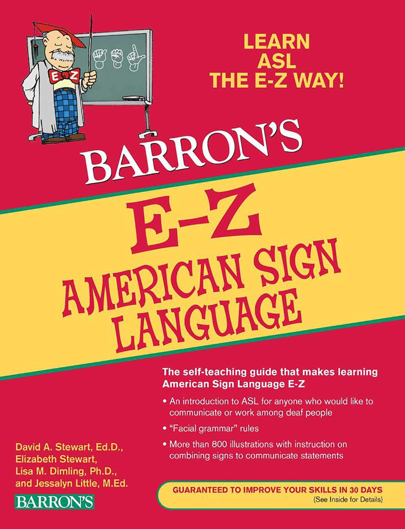 E-Z American Sign Language (Barron's E-Z Series) by Harris Communications