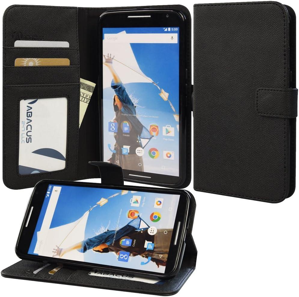 Abacus Moto-NEX6 Funda para teléfono móvil Folio Negro: Amazon.es: Electrónica
