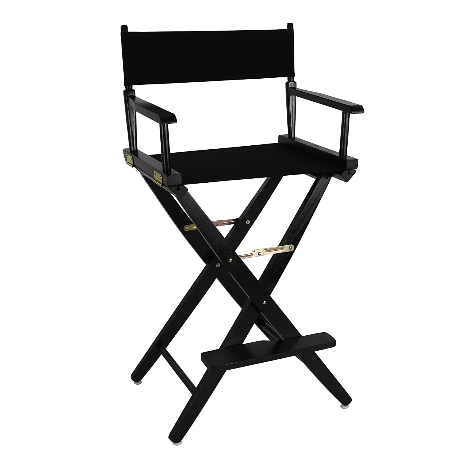 Directors chair png - American Trails Extra Wide Premium 30 Directors Chair Black Frame W Black Color Cover