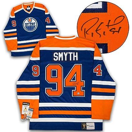 premium selection 8866f 1a29e Ryan Smyth Edmonton Oilers Autographed Signed Rookie ...