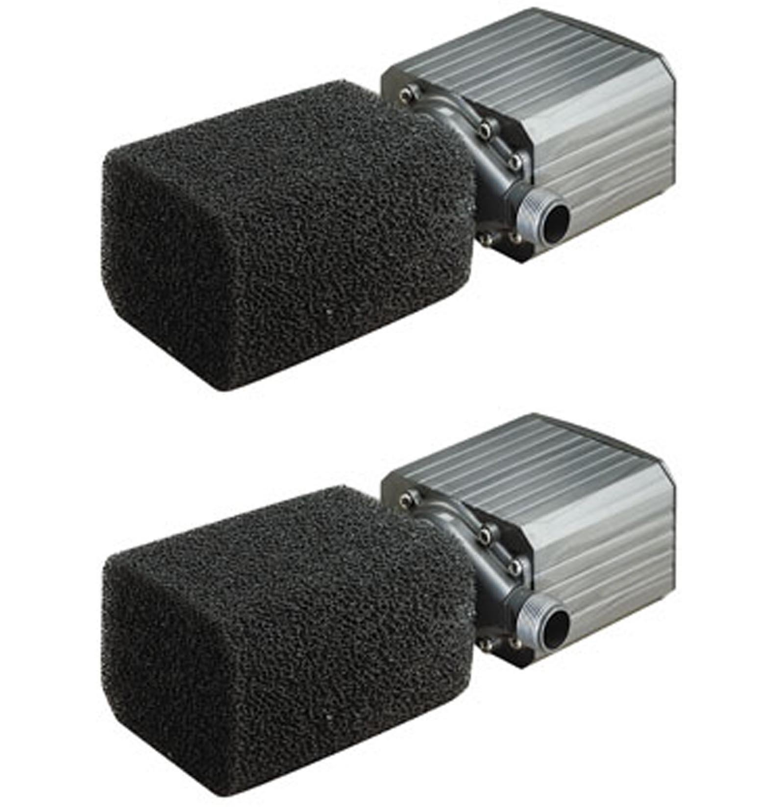 (2) PONDMASTER Model 18 Supreme 1800 GPH Mag Drive Fountain Pond Pumps | 02718