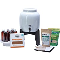 Makes Kombucha Tea On Tap. Continuous Kombucha Home Brew Kit Makes 127 Bottles Of Great Tasting Kombucha Tea Right From Home Every 28 Days! Everything You Need To Get Brewing. 180 Day Guarantee.