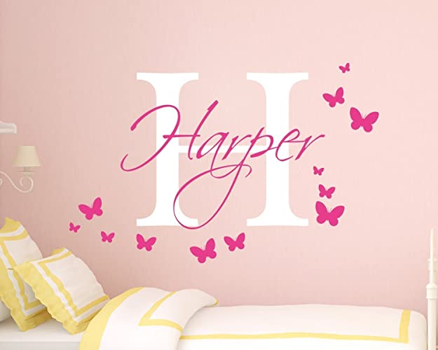 personalised girls name wall sticker girls name wall sticker