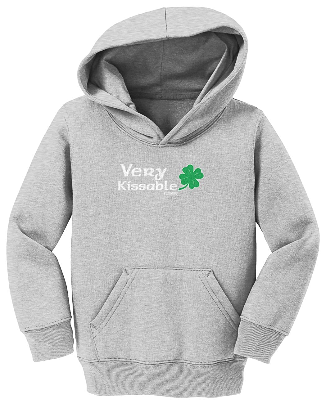 Four Leaf Clover Toddler//Youth Fleece Hoodie Very Kissable