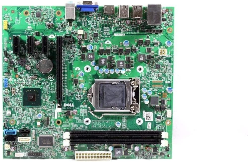Dell Inspiron 620 System Motherboard W/O CPU CN-0GDG8Y 0GDG8Y GDG8Y (Renewed)