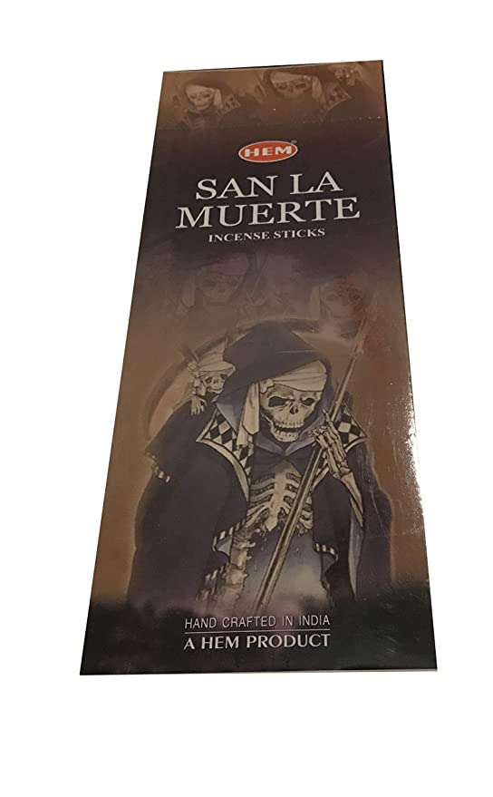 Amazon.com: Hem Best Seller Incense San La Muerte 120 ...