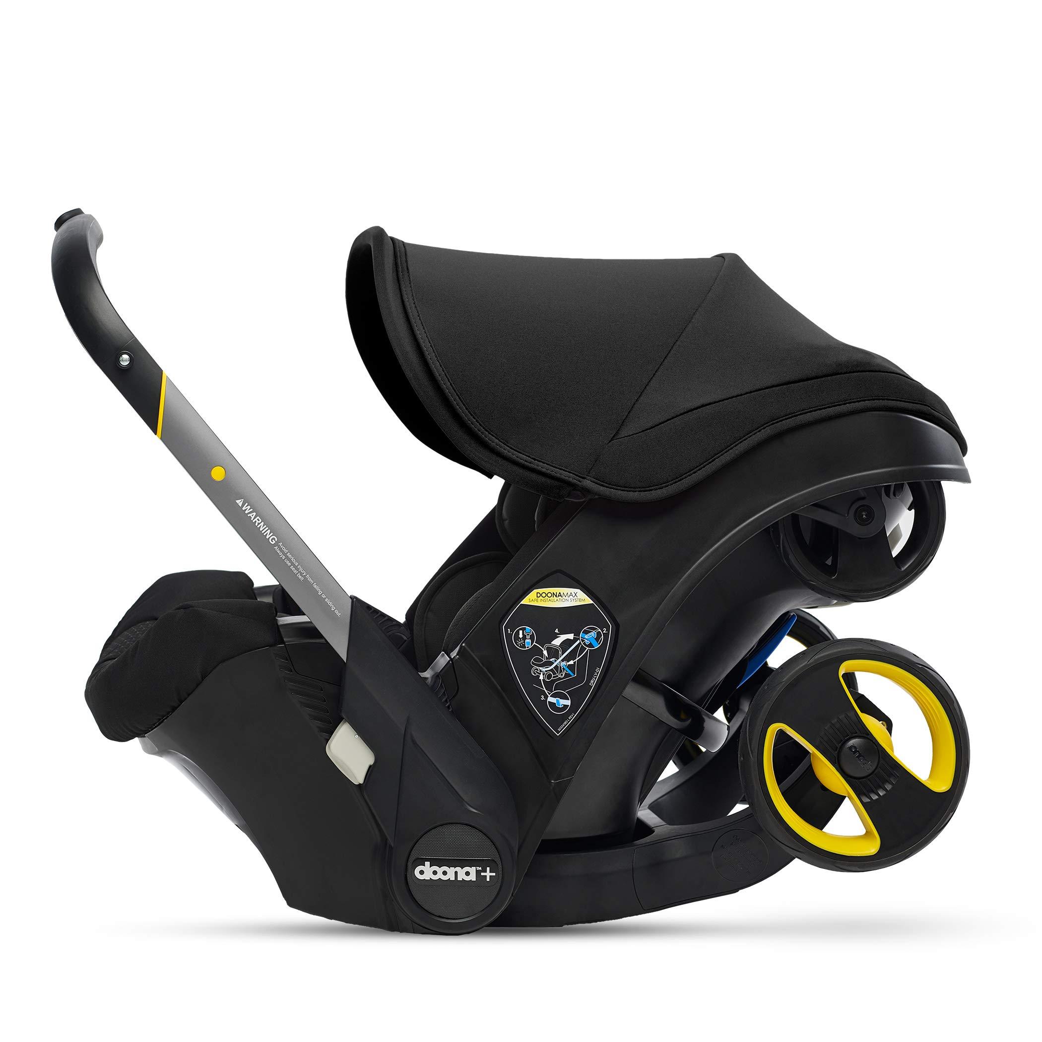 Doona Infant Car Seat & Latch Base - Nitro Black - US Version
