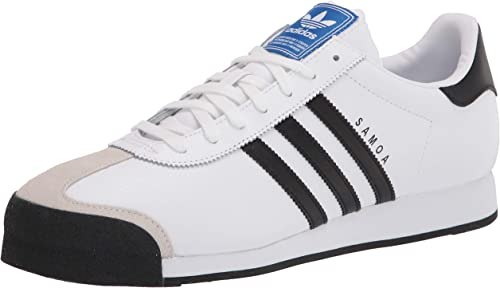 Dar derechos Trasplante servidor  adidas Originals Mens Samoa-M Samoa Retro Sneaker White Size: 9.5:  Amazon.co.uk: Shoes & Bags