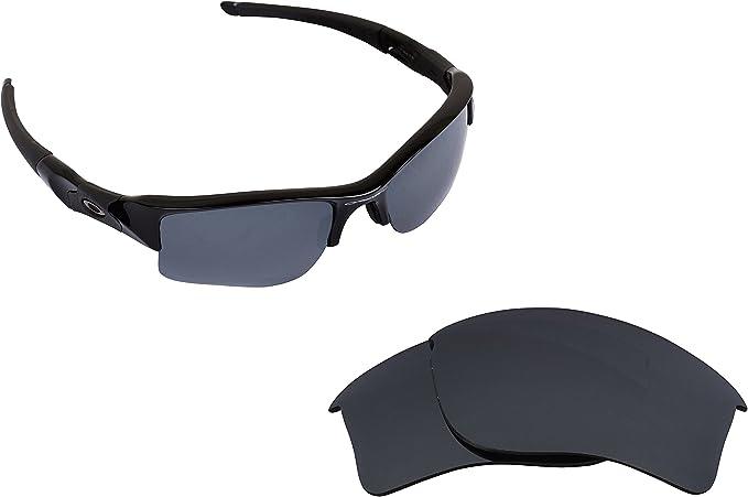 8f5f6e0b765 FLAK JACKET XLJ Lenses Accessories Kit Black Iridium Black by SEEK fits  OAKLEY at Amazon Men s Clothing store