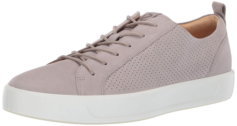 Moon Rock Summer Perforated ECCO Mens Soft 8 Tie Sneaker