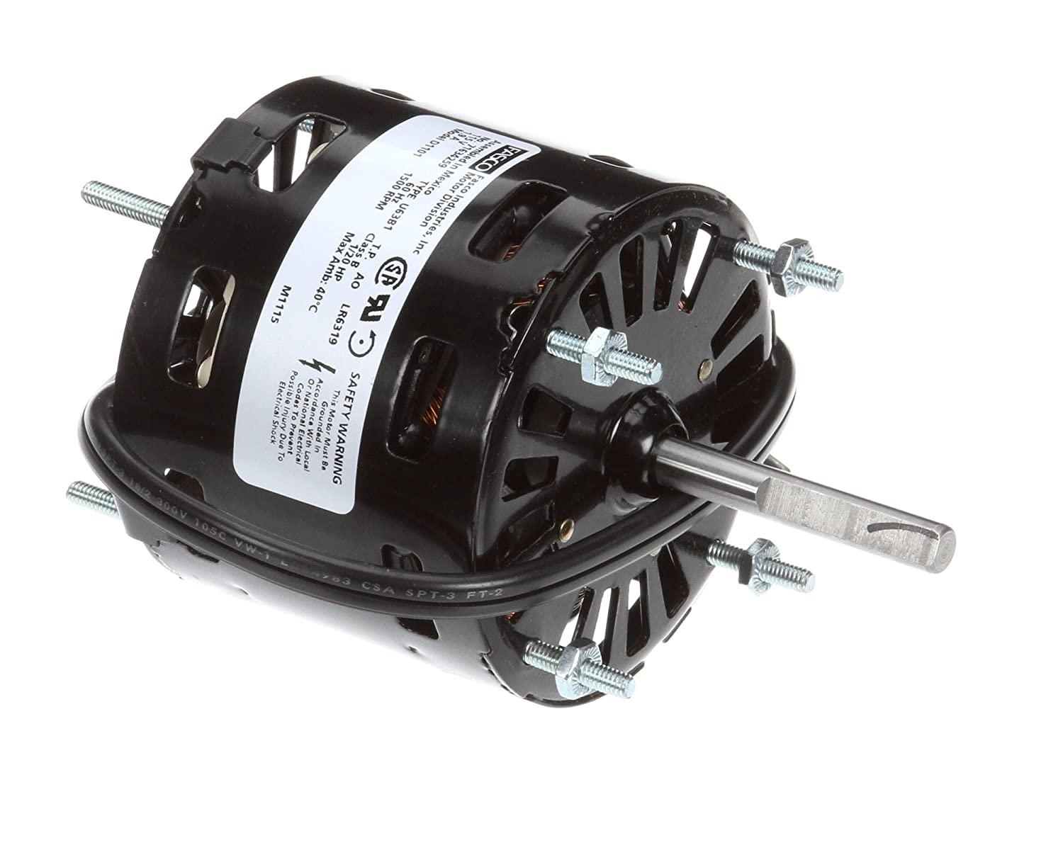 1//20Hp 1500Rpm 115V Fasco D1101 CCW Motor