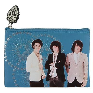 Amazon.com: Jonas Brothers – Grupo purpurina cartera: Clothing