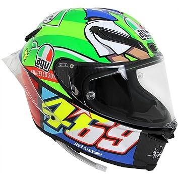 AGV pista GP edición limitada Mugello 2017 calle casco de moto