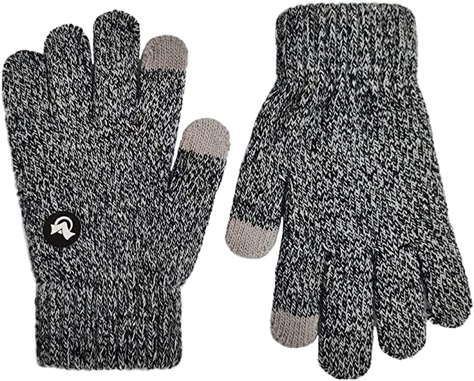 Children/'s Touch Screen Winter Knitted Gloves iPhone Tablet Kids Thermal Mittens