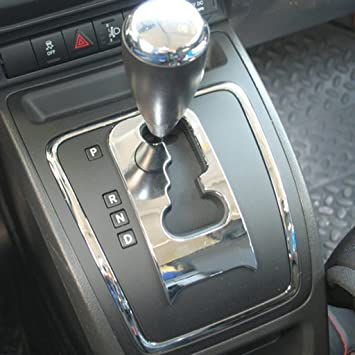 SUNNY Auto Nuevo para 2011 2012 2013 2014 2015 2016 Jeep brújula interior accesorios adornos centro Gear cubierta: Amazon.es: Coche y moto