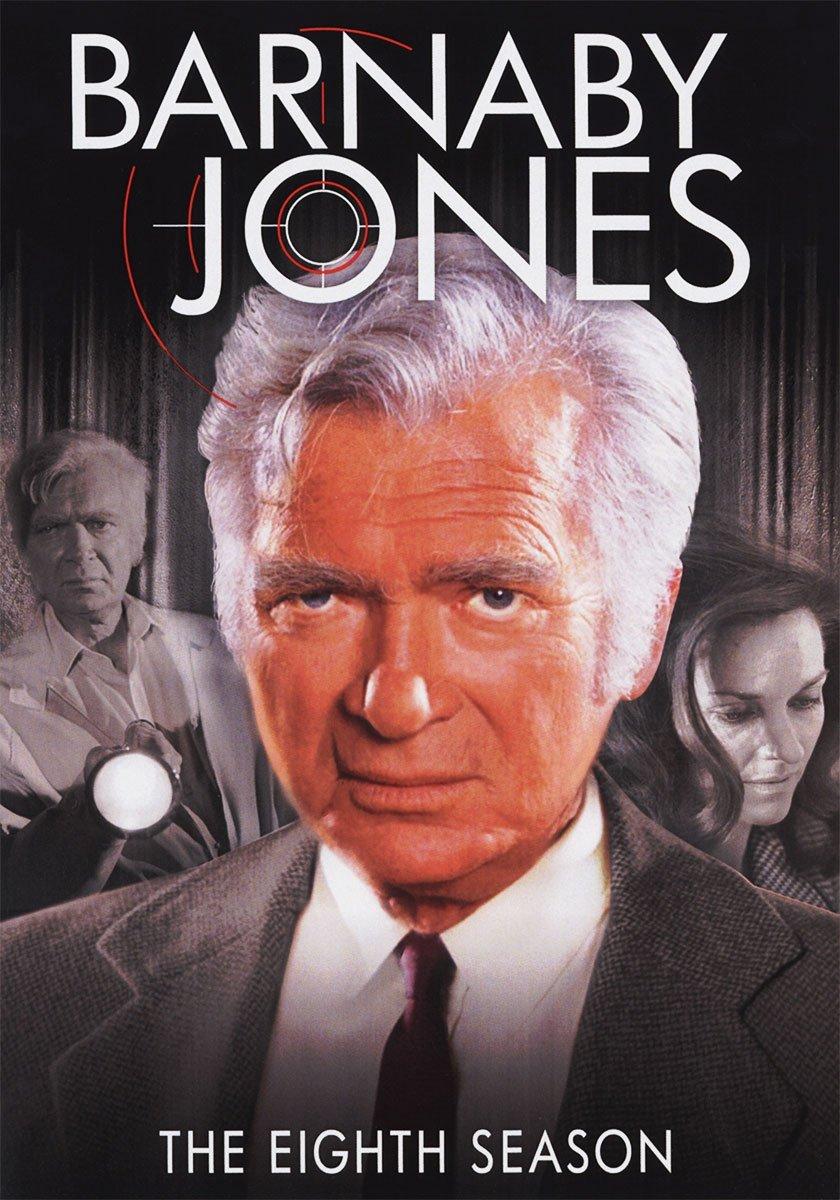 DVD : Barnaby Jones: The Eighth Season (DVD)