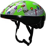 Junior Kids Childs Cycling / Bike Helmet With Adjustable Headband For A Safer Fit , Age Guide 3, 4, 5, 6, 7 yrs Ideal First Childrens Helmet