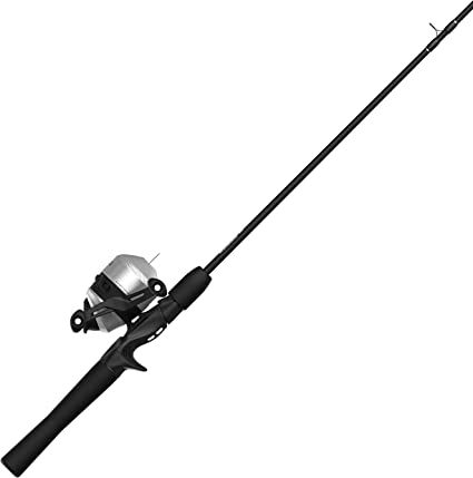 Amazon Com Zebco 33 Spincast Reel And 2 Piece Fishing Rod Combo 5 5 Foot Durable Fiberglass Rod With Split Cork Eva Handle Quickset Anti Reverse Fishing Reel With Bite Alert Includes 29 Pieces Of Tackle Pink Sports