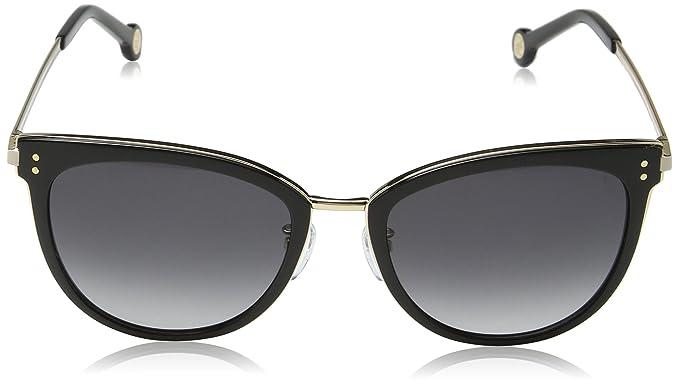 Carolina Herrera Mujer SHE102 Gafas de sol, Dorado (Shiny Rose Gold)