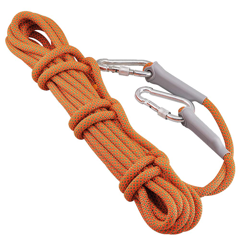 Syiswei 10.5mm 25KN Climbing Rappelling Safty Rope High Strength Accessory Cord for Climbing Hiking Rescue /& Dog Leash