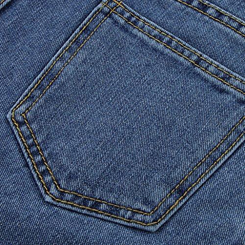 femmes Jupe split nouvelles jeans XL Tailles Homyl extensible S front v5tqTOw