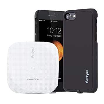 Antye Qi inalámbrico Cargador Kit para iPhone 7 Plus - 5,5 ...
