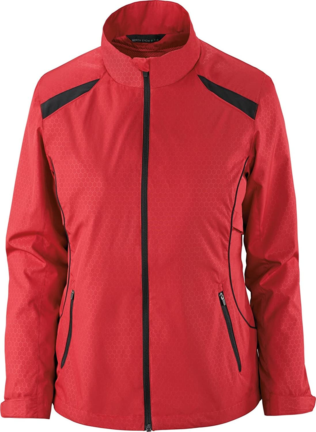 78188-Classic Red//... North End Ladies Lightweight Recycled Jacket