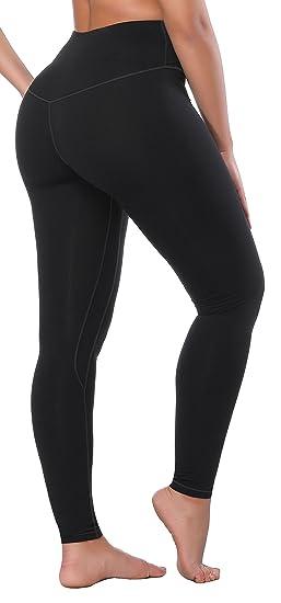 c5d52c8263c93 Krralinlin Women High Waist Inner Pocket Yoga Pants Active Workout Running  Sports Leggings,X-