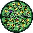 ミノダ スヌーピーヴィンテージ風ワッペン アイロン・シール両用 Woodstock S02Y8972