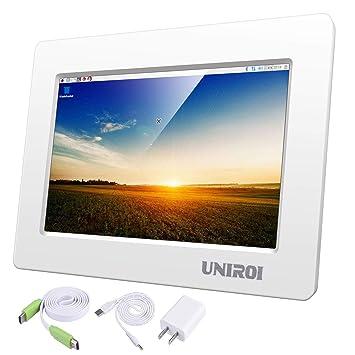 UNIROI - Pantalla LCD HD de 7 Pulgadas para Raspberry Pi ...