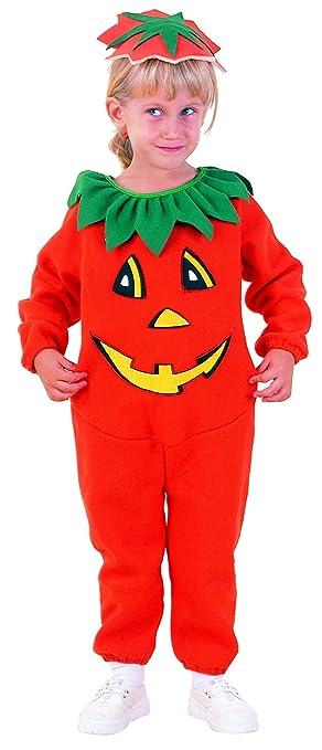 LUCIDA - Disfraz de calabaza para niña, talla 1-2 años: Amazon.es ...