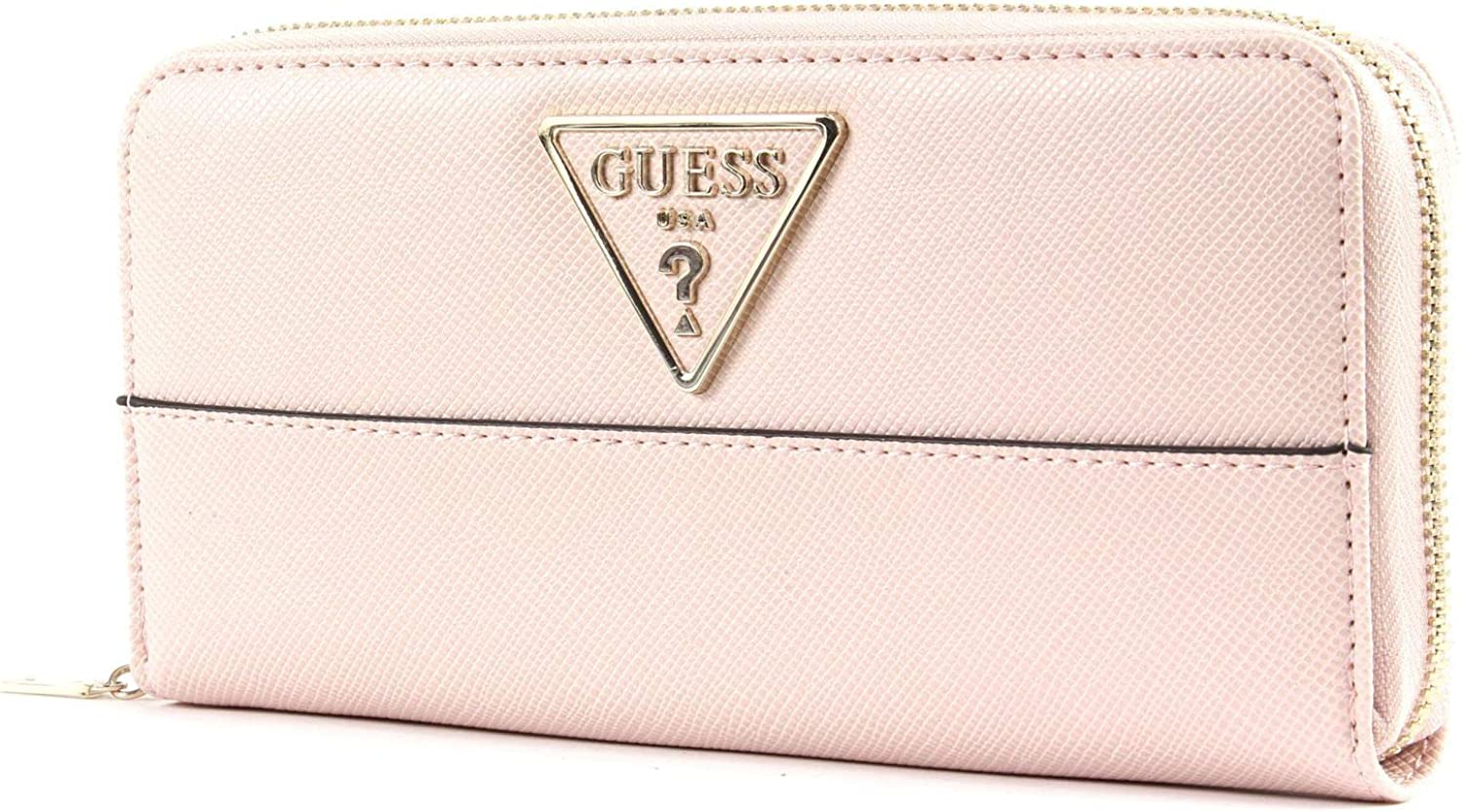 Guess Cary SLG Large Zip Around Blush: : Schuhe
