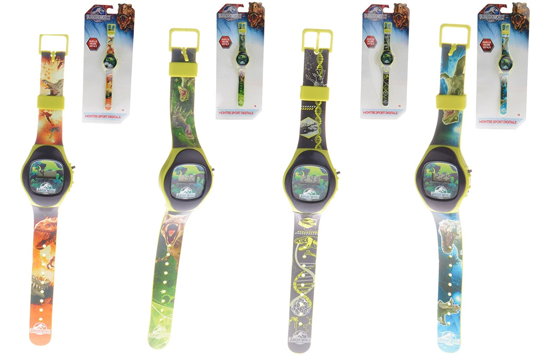 Universal - Mundo Jurásico - - 896 026 Reloj Digital: Amazon.es: Juguetes y juegos