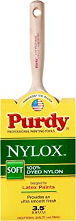 product image for Purdy 144228235 Nylox Series Mode Flat Trim Paint Brush, 3-1/2 inch