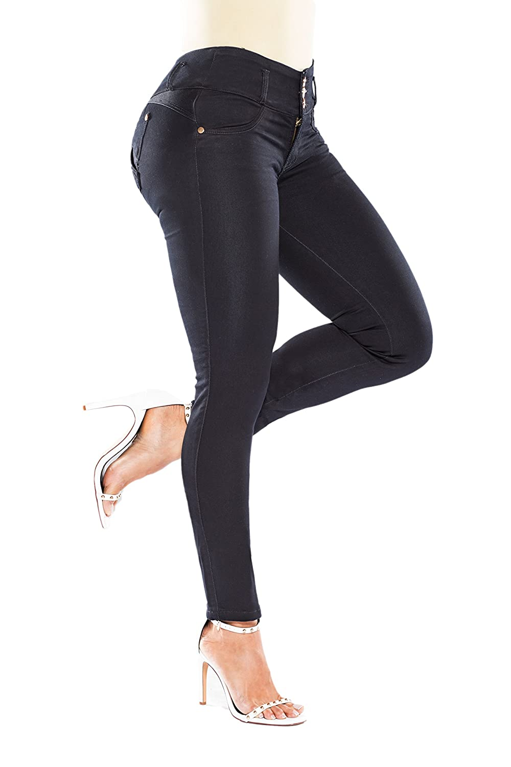 60a86901fd245 Traffic Stoppers  Get That Sexy Perky Butt (Naturally!) with the Curvify  837 High Waisted Butt Lifting Stretch Jeans  No padding