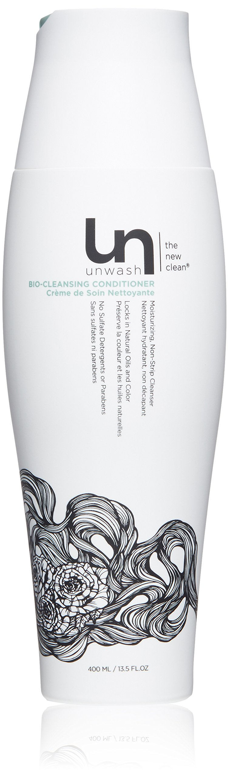 Unwash Bio-Cleansing Conditioner Hair Cleanser: Co-Wash Cleansing & Conditioning