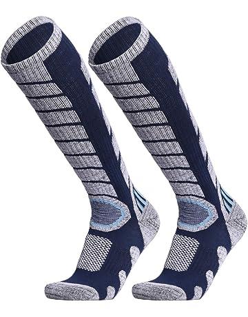 ffeef996d WEIERYA Ski Socks 2 Pairs Pack for Skiing