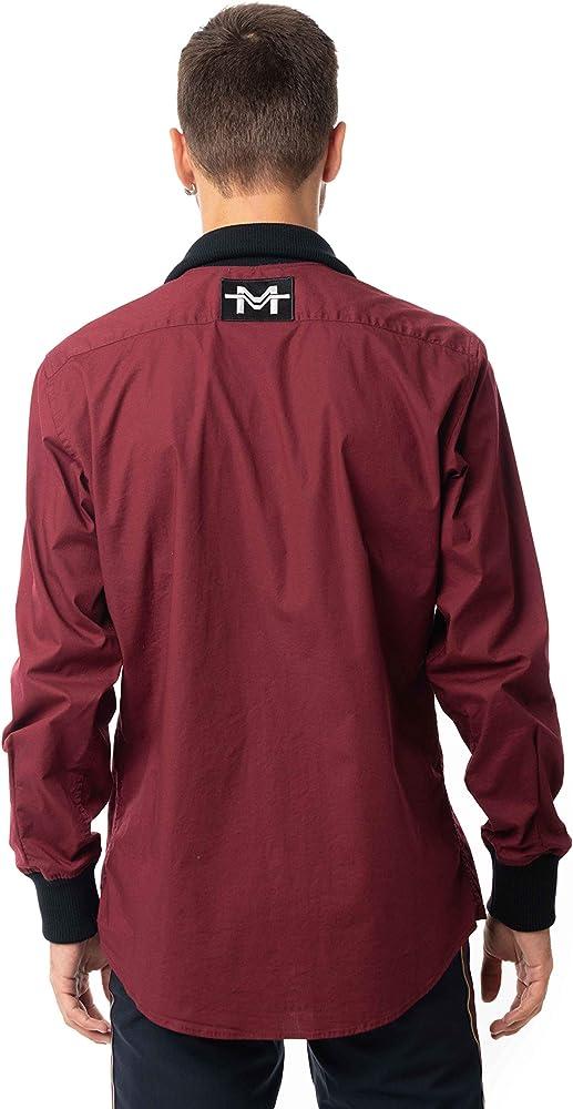 Morgan Visioli Fashion Camisa Hombre Burdeos (m, Multicolor): Amazon.es: Ropa y accesorios