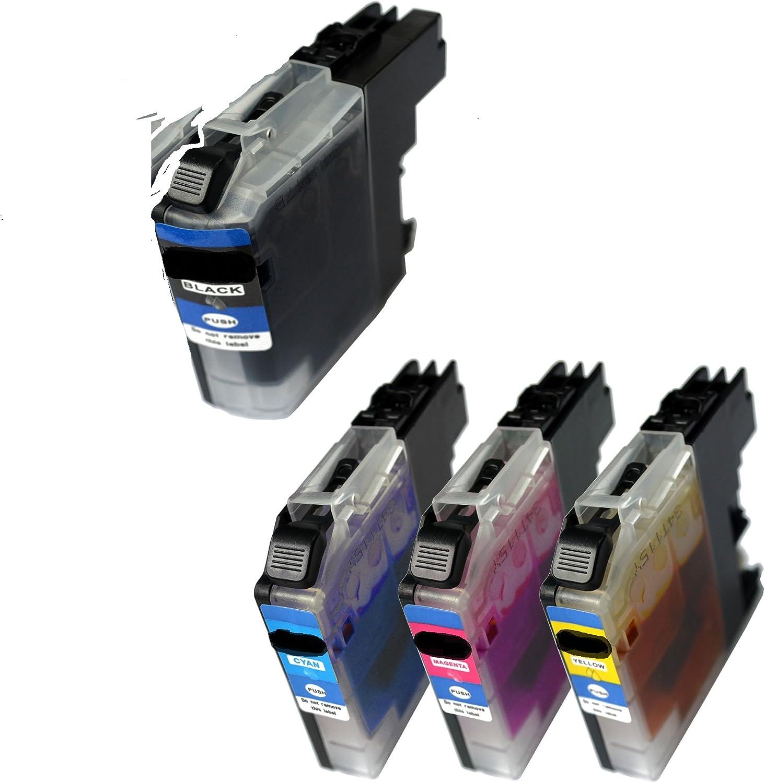 Reinigungspatronen Set Kompatibel Für Brother Lc 123 Computer Zubehör