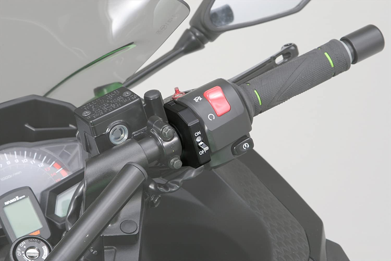 Daytona Japan Flat On//Off Switch for Motorcycle Handlebar Universal Fitment