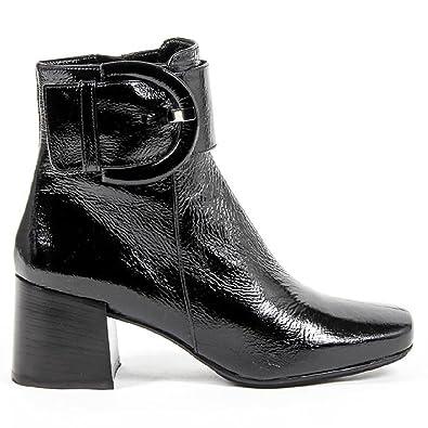 32023740e73 Versace 19.69 Abbigliamento Sportivo Srl Milano Italia Womens Heeled Ankle  Boot B2484 FINISH NERO
