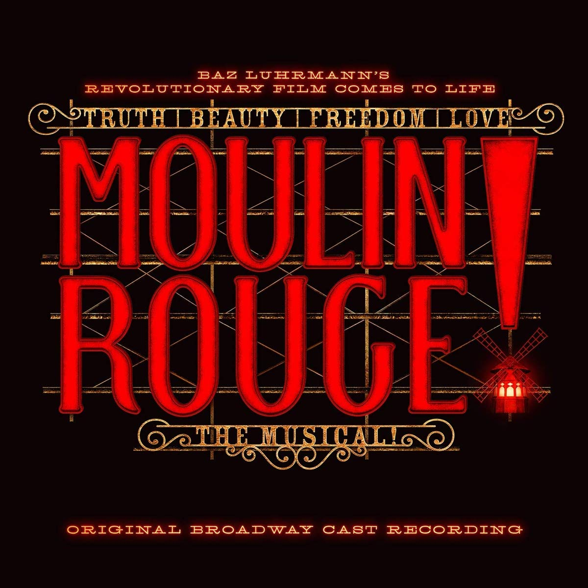 Moulin Rouge The 40% OFF Cheap Sale Musical Broadway Cast Recording Original Max 84% OFF