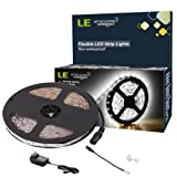 Amazon Price History for:LE 16.4ft 12V Flexible LED Light Strip, LED Tape, 6000K Daylight White, 300 Units SMD 2835 LEDs, Non Waterproof, LED Ribbon, LED Light Strips, For Home/Kitchen/Car/Bar, Power Adapter Included