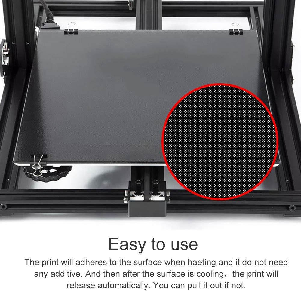Zerone - Plataforma de Cristal para Impresora 3D (Placa de Vidrio ...