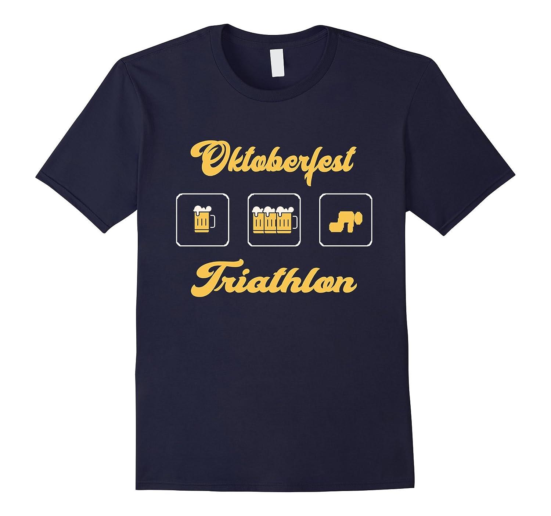 01bba3df Oktoberfest Triathlon T Shirt – Funny Octoberfest Beer Tees-CL ...
