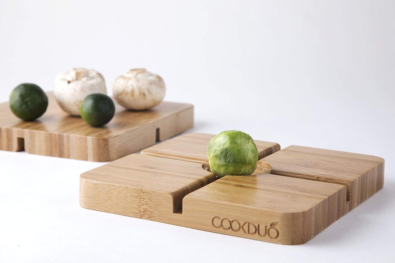 CookDuo Veggie Gripper Cutting Board