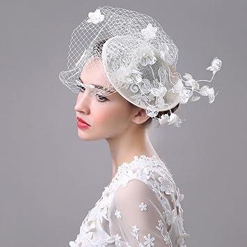Sombrero - damas de otoño e invierno tocado tiara de la novia europea y  americana hechos 8cdb22a7a5c1